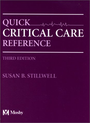 Quick Critical Care Reference 9780815136941