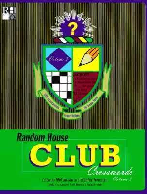 Random House Club Crosswords, Volume 3 9780812929690