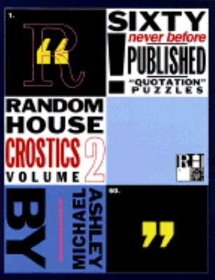 Random House Crostics, Volume 2 9780812926705