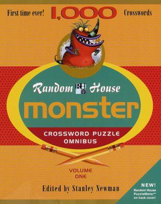 Random House Monster Crossword Puzzle Omnibus, Volume 1 9780812932133