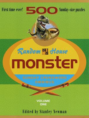 Random House Monster Sunday Crossword Omnibus, Volume 1 9780812930597
