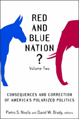 Red and Blue Nation? Volume 2: Consequences and Correction of America's Polarized Politics 9780815760795
