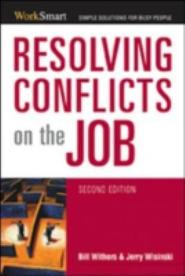 Resolving Conflicts on the Job 9780814474136