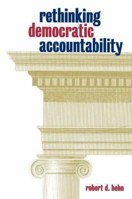 Rethinking Democratic Accountability 9780815708612