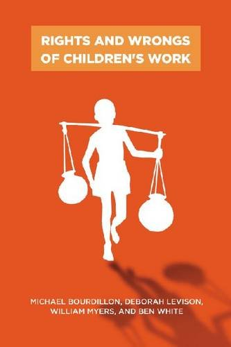Rights and Wrongs of Children's Work 9780813548890