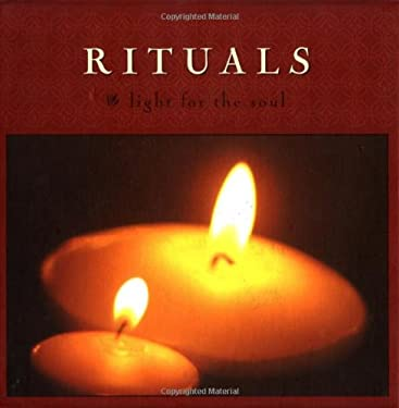 Rituals: Light for the Soul [With BookWith 30 Ritual CardsWith 3 Candles] 9780811835589