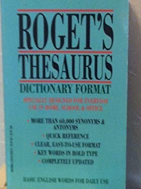 Roget's Thesaurus Dictionary Format