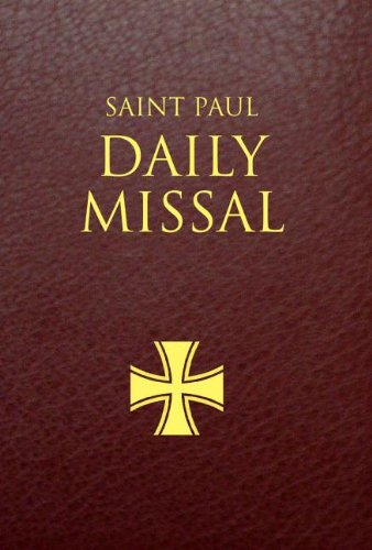 Saint Paul Daily Missal: Burgundy Leatherflex 9780819872203