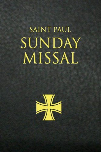 Saint Paul Sunday Missal: Black Leatherflex 9780819872234