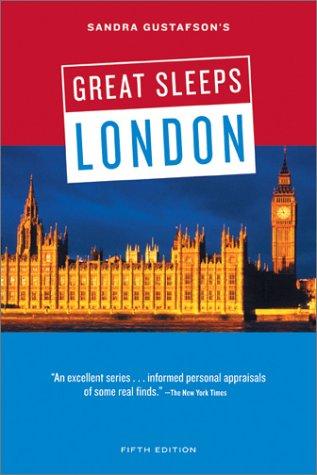 Sandra Gustafson's Great Sleeps London 9780811832991