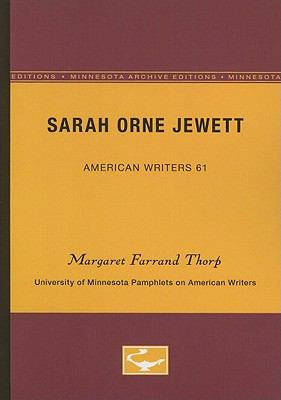 Sarah Orne Jewett 9780816604067