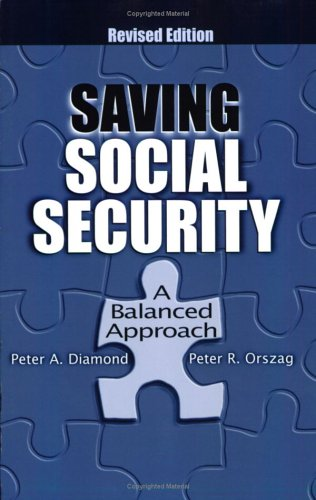 Saving Social Security: A Balanced Approach 9780815718376
