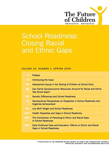 School Readiness: Closing Racial and Ethnic Gaps 9780815755593