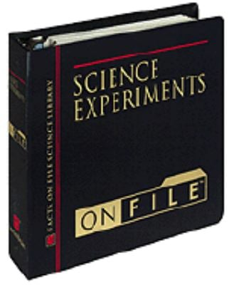 Science Experiments on File 9780816039982