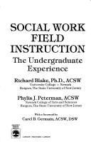 Social Work Field Instruction