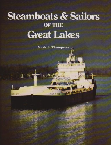 Steamboats & Sailors of the Great Lakes 9780814323595