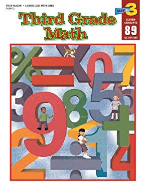 Steck-Vaughn Grade Level Math: Student Workbook Grade 3 9780817280475