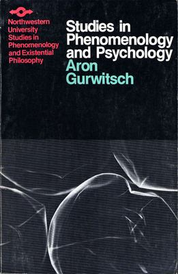 Studies in Phenomenology and Psychology 9780810105928