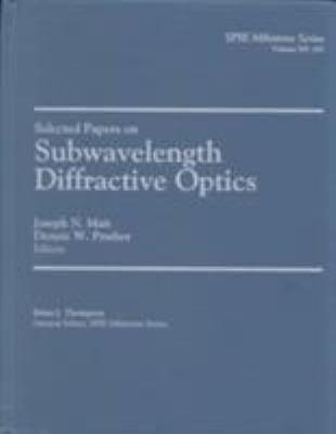 Subwavelength Diffractive Optics 9780819440495