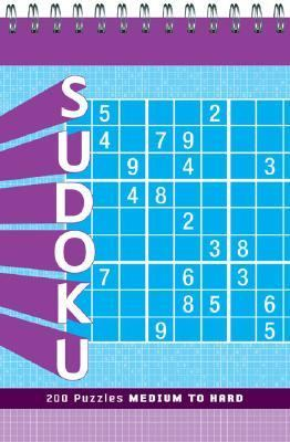 Sudoku: Medium to Hard 9780811856751