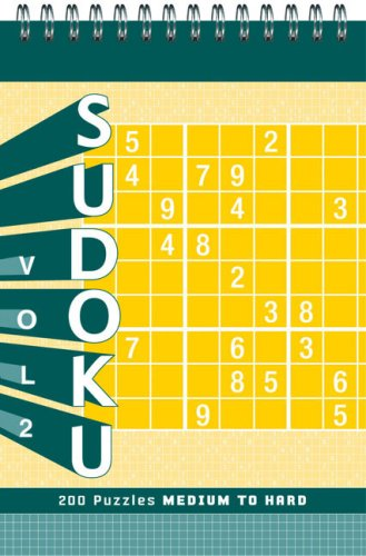 Sudoku: Volume 2: Medium to Hard 9780811861175