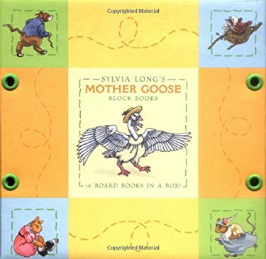 Sylvia Long's Mother Goose Block Books: 16 Board Books in a Box 9780811835749