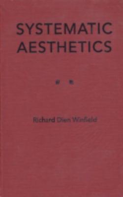 Systematic Aesthetics 9780813013688