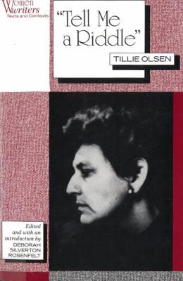 Tell Me a Riddle - Olsen, Tillie / Rosenfelt, Deborah Silverton