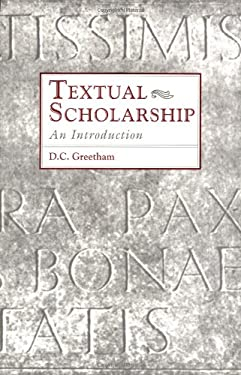Textual Scholarship: An Introduction 9780815317913