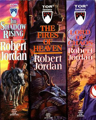 The Wheel of Time, Boxed Set II, Books 4-6: The Shadow Rising, the Fires of Heaven, Lord of Chaos 9780812540116