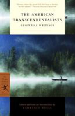 The American Transcendentalists: Essential Writings 9780812975093