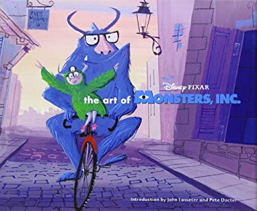 The Art of Monster, Inc. 9780811833882