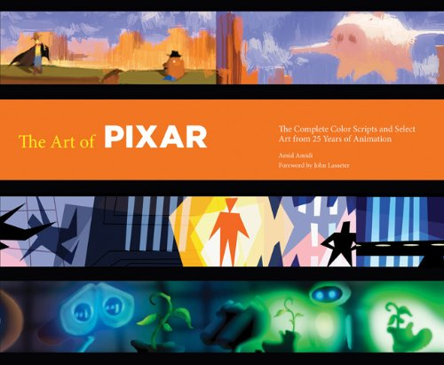 The Art of Pixar: The Complete Colorscripts and Select Art from 25 Years of Animation 9780811879637