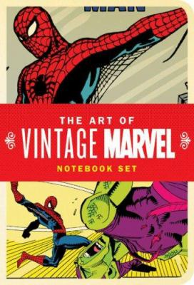 The Art of Vintage Marvel Notebook Set 9780811858519
