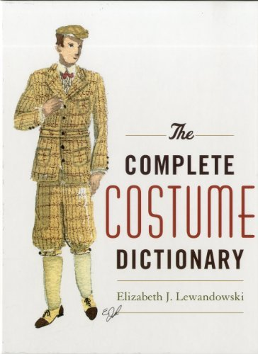 The Complete Costume Dictionary 9780810840041