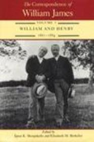The Correspondence of William James: William and Henry 1861-1884 9780813913384