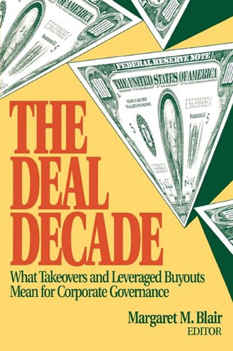 The Deal Decade 9780815709459