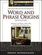 The Facts on File Encyclopedia of Word and Phrase Origins 9780816069675