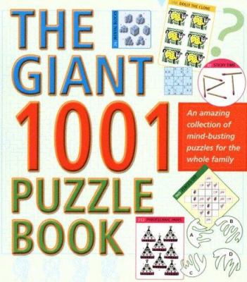 The Giant 1001 Puzzle Book 9780812936551