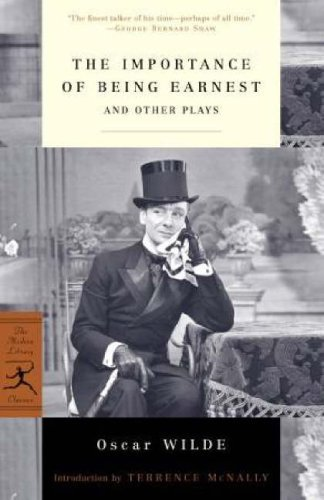 The Importance of Being Earnest and Other Plays 9780812967142