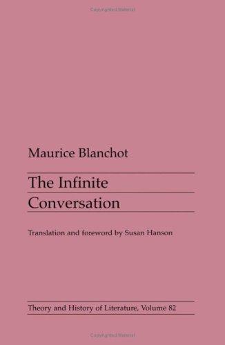 Infinite Conversation 9780816619702