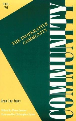 The Inoperative Community 9780816619245