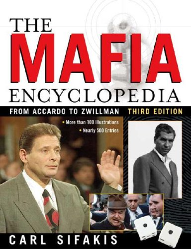 The Mafia Encyclopedia 9780816056958