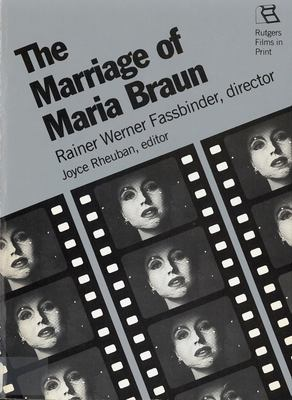 The Marriage of Maria Braun 9780813511306