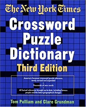 The New York Times Crossword Puzzle Dictionary, Third Edition 9780812923735