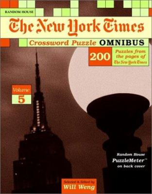 The New York Times Crossword Puzzle Omnibus, Volume 5 9780812935547