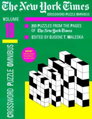 The New York Times Daily Crossword Omnibus, Volume 10 9780812931655