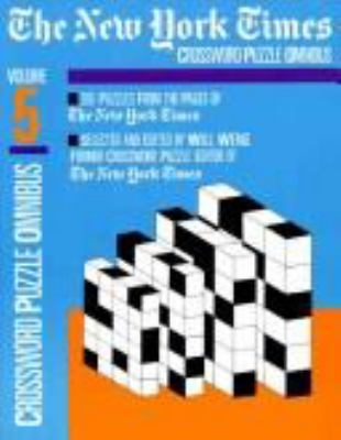The New York Times Daily Crossword Puzzle Omnibus, Volume 5 9780812917086