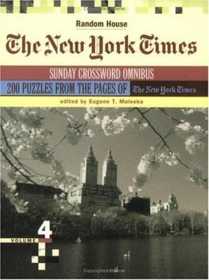 The New York Times Sunday Crossword Omnibus, Volume 4 9780812936186