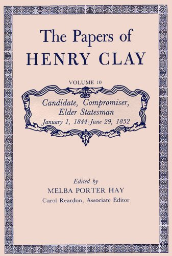 research papers on henry clay Most people know henry clay as a towering political figure and he was certainly  that he was, however, much more click on the titles at the left to get to know.